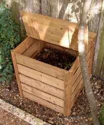 Compostage individuel dans le jardin